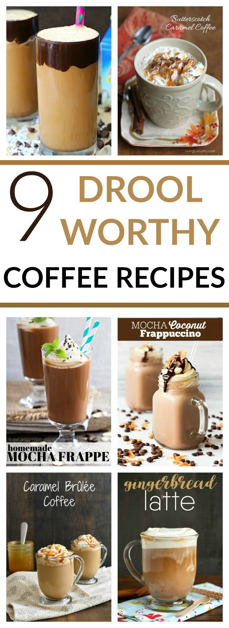 Photo of 9 Drool Worthy Coffee Recipes on Pinterest – Celebrate National Coffee Day with Folgers Perfect Measures