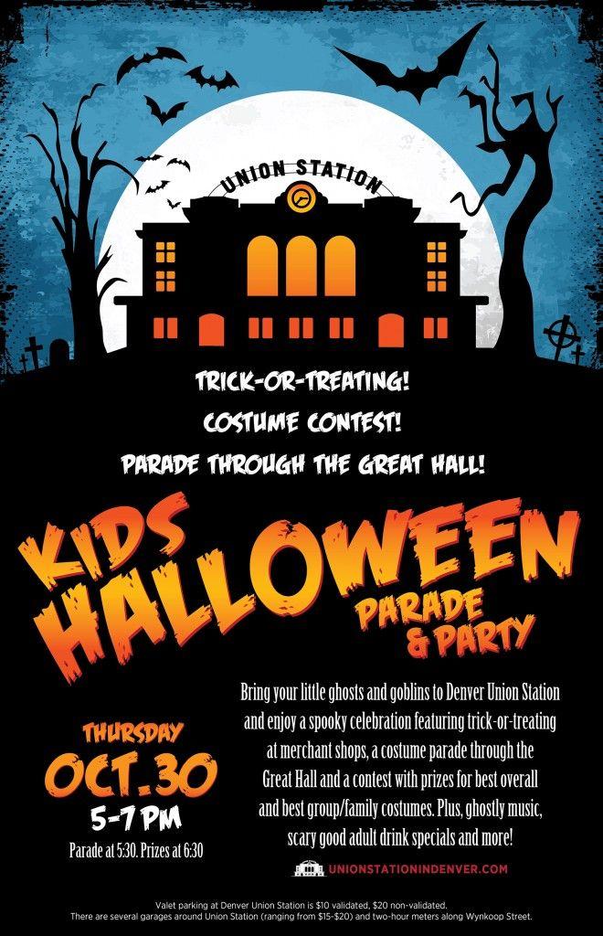 Denver Union Station Hosts Inaugural Kids Halloween Parade