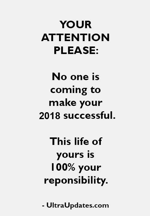Pin by UltraUpdates on Happy New Year 2018 Quotes | Pinterest ...
