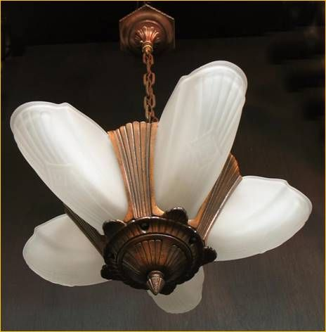 Antique Ceiling Fixtures From Harris House Lighting