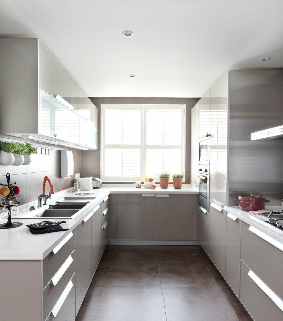 Best U Shaped Kitchen Design Decoration Ideas Cocinas Pequenas