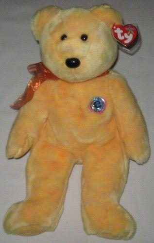 SUNNY hte Yellow Bear - Ty Beanie Baby BUDDY (buddies) - 13 inches tall 082eb38c2f3