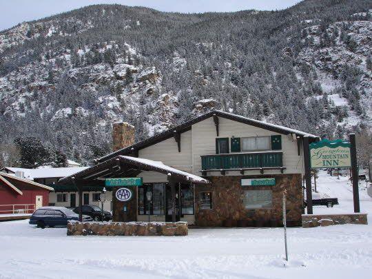 Georgetown Motor Inn Colorado Ski 1964 Roadside Photo Ad Travel