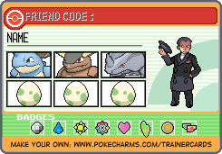 Trainer Card Maker Pokécharms Trainer Card Maker Card Maker Cards