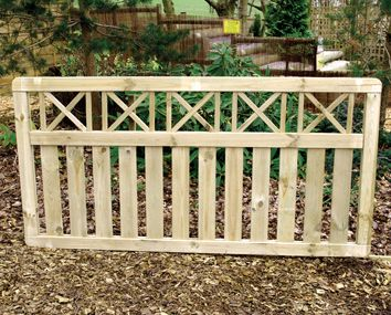 Elite Zurich Panels Make Every Hour You Spend In Your Garden Feel Like A Trip To Switzerland With This Elegan Railing Design Timber Fencing Garden Furniture