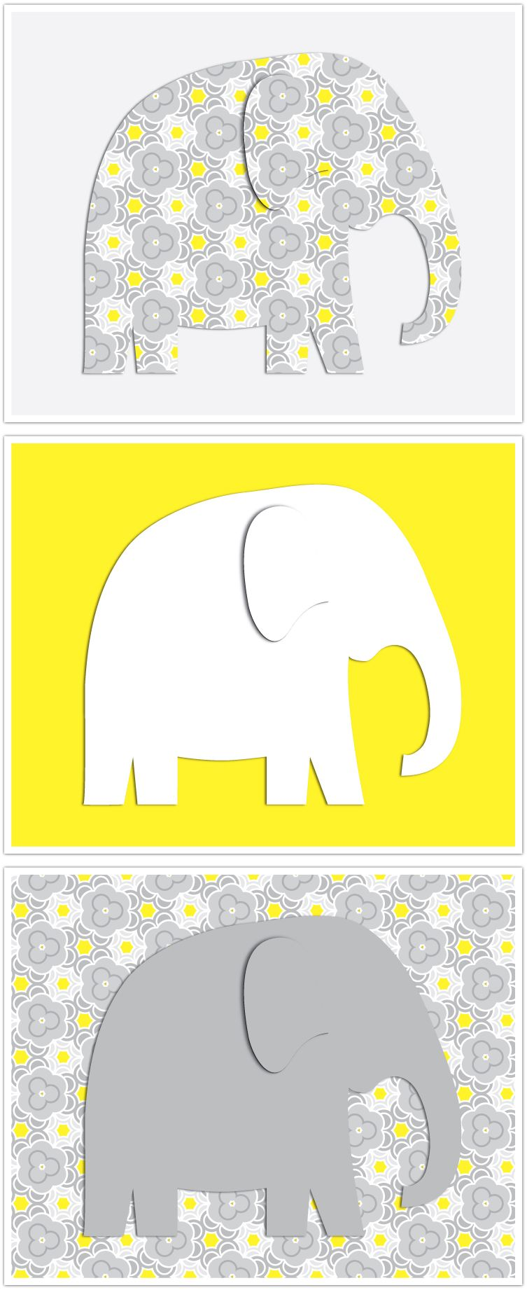 Free Printables--Elephants, Crocs, Giraffes