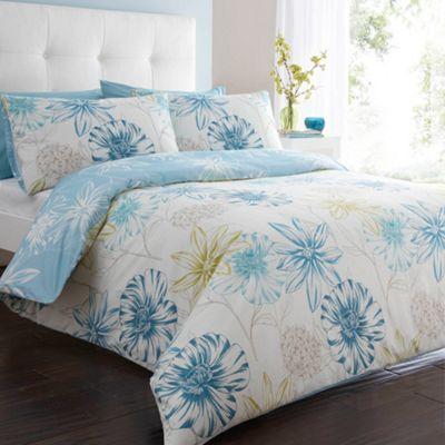 White Passion Flower Bedding Set At Debenhams Com Flower Bedding Bed Bedding Set