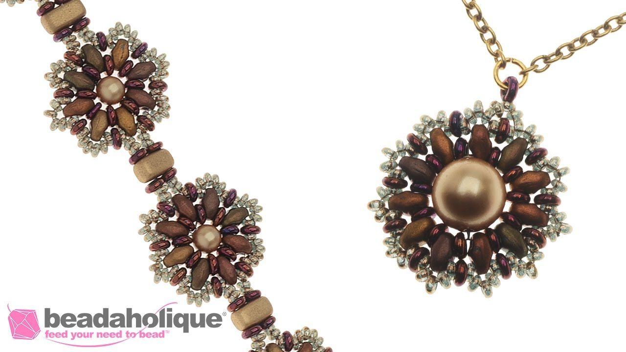How to Make the Floraline Necklace, Earring, and Bracelet Set