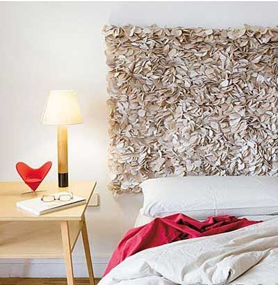 60 fotos e ideas para hacer un cabecero de cama original - Ideas cabeceros originales ...