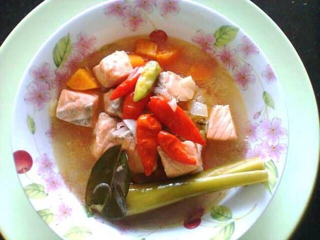 Cara Membuat Sup Ikan Salmon Dan Sayuran Untuk Anak Solusisehatku Com Sup Ikan Sayuran Salmon