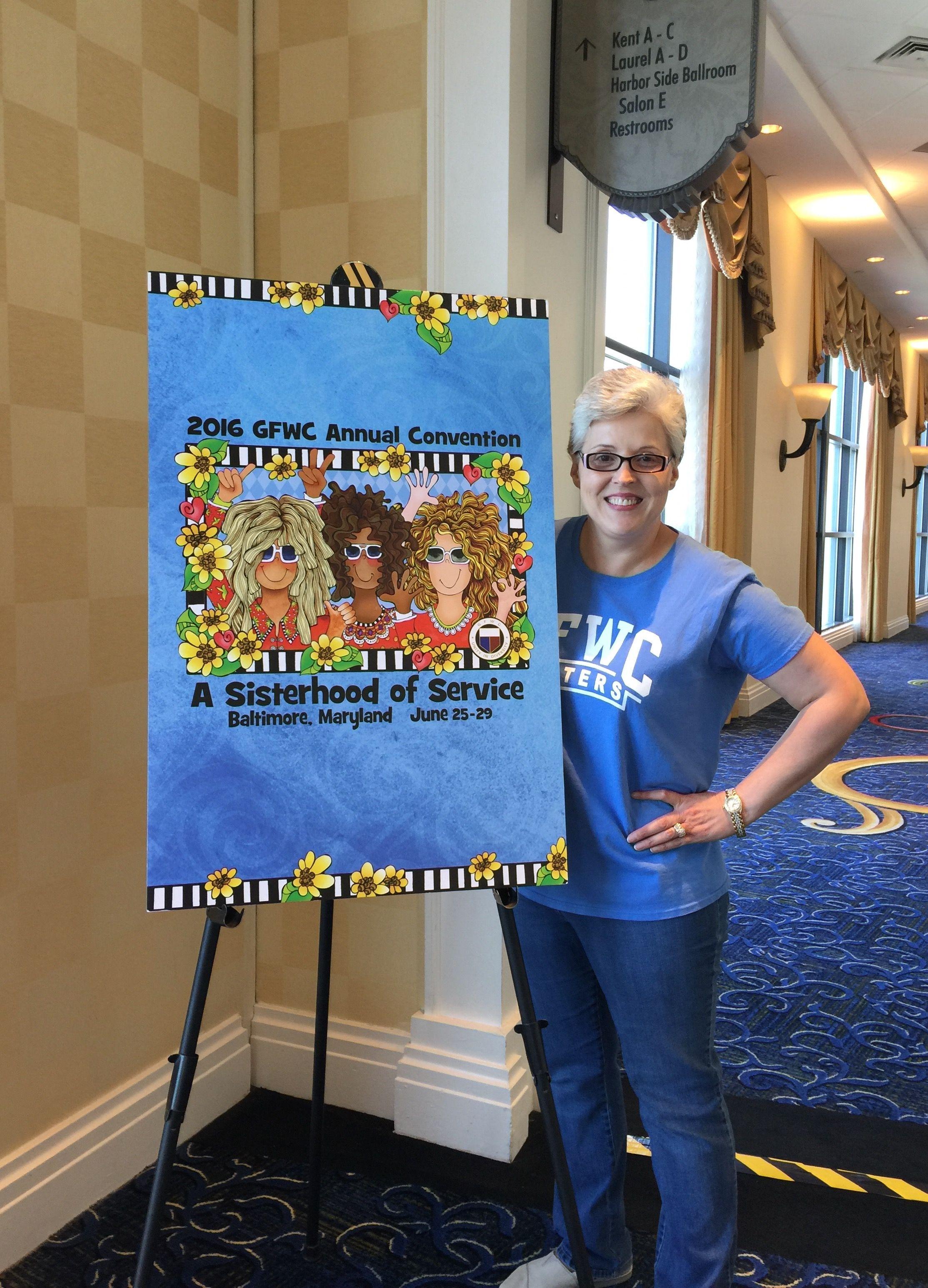 Helen Lamberth Sisterhood of Service GFWC Convention, Baltimore Maryland 2016