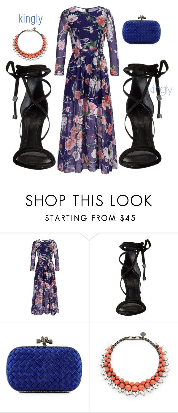 """kingly"" by sony-effe ❤ liked on Polyvore featuring Schutz, Bottega Veneta and Ellen Conde"