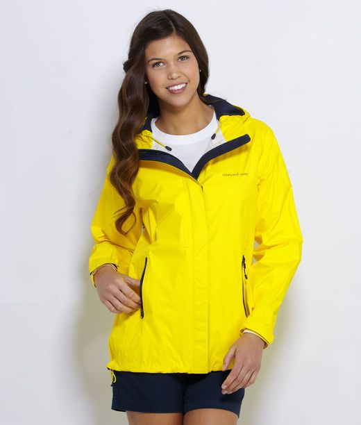 Hooded Raincoats for Women: Stow and Go Foldable Raincoat ...