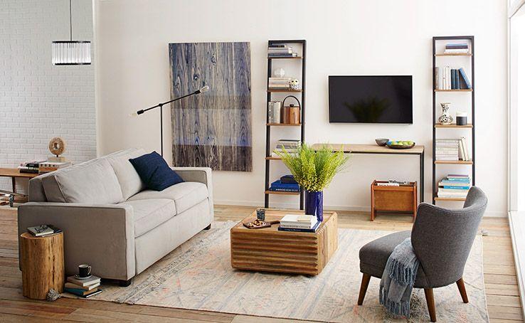West Elm Organizing Tips Living Room Inspiration Living Room Decor Modern Apartment Inspiration