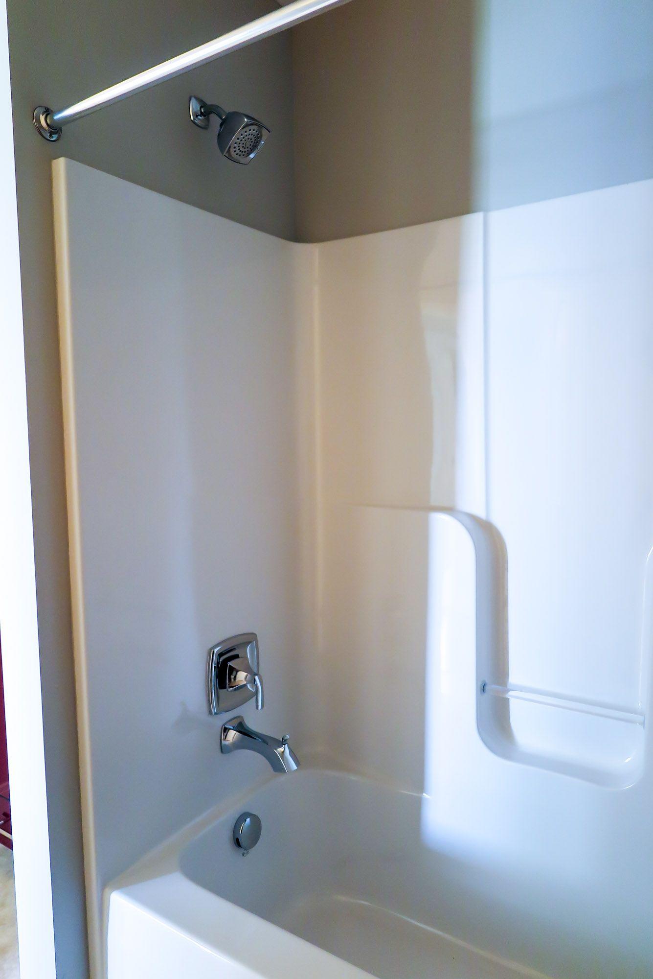 The family bath: Aker Shower with a Moen Voss T2693 faucet Moen Voss ...