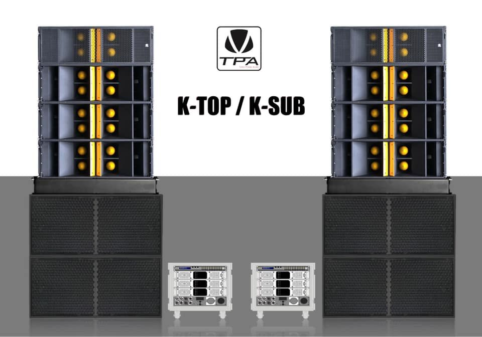 Tpa Big K Top Dual 15 Line Array Speaker Pro Audio Live Sound Engineer P A System