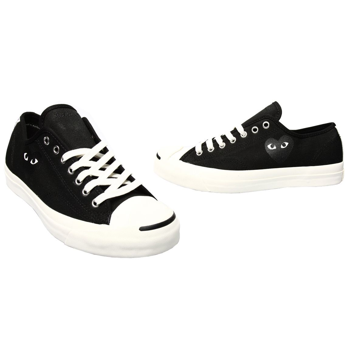 Jack Purcell CDG Play Converse £95 Shop now at WWW.HERVIA