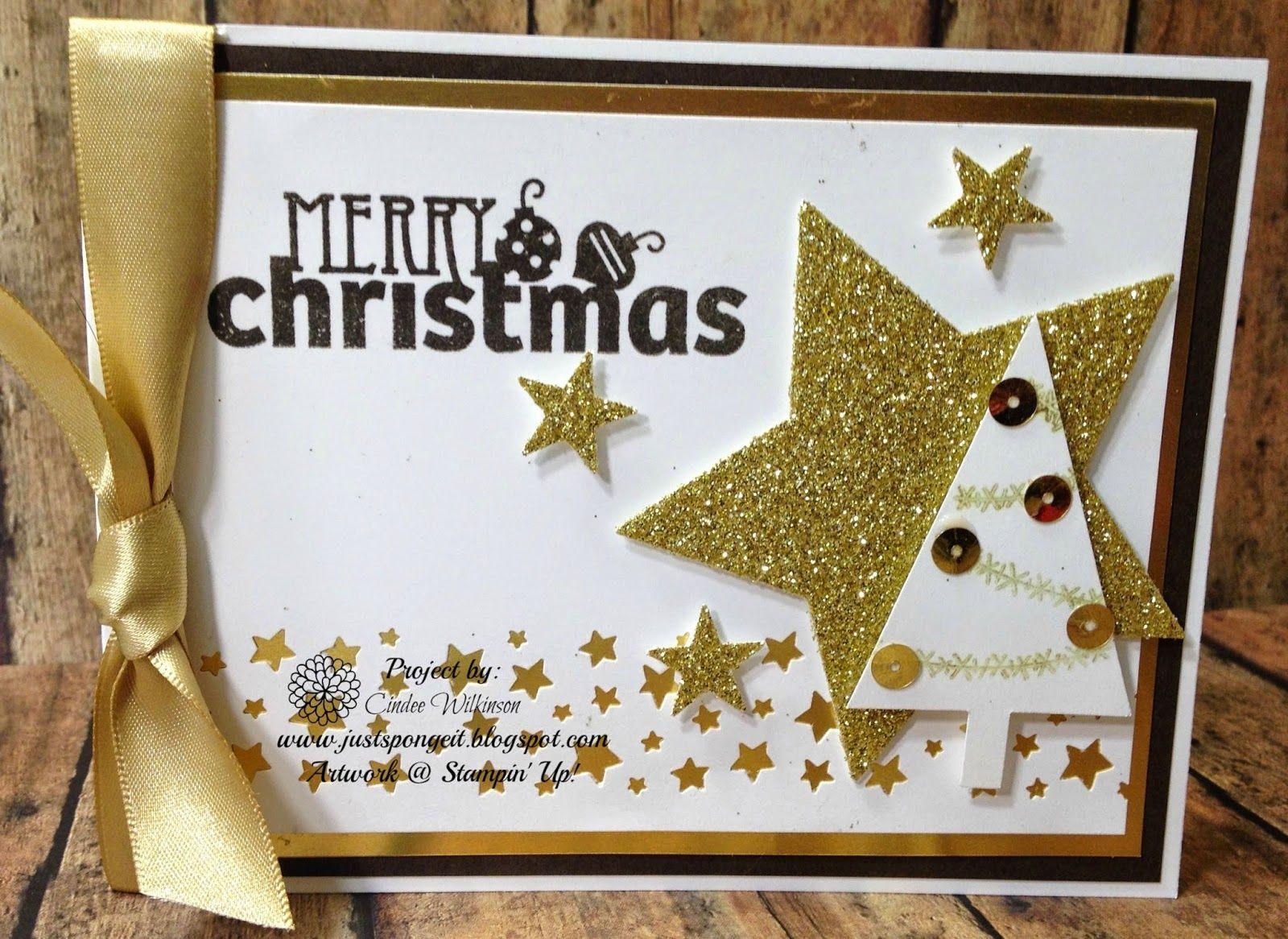 Just sponge it merry christmas club card christmas bliss stars just sponge it merry christmas club card christmas bliss stars framelits confetti kristyandbryce Images