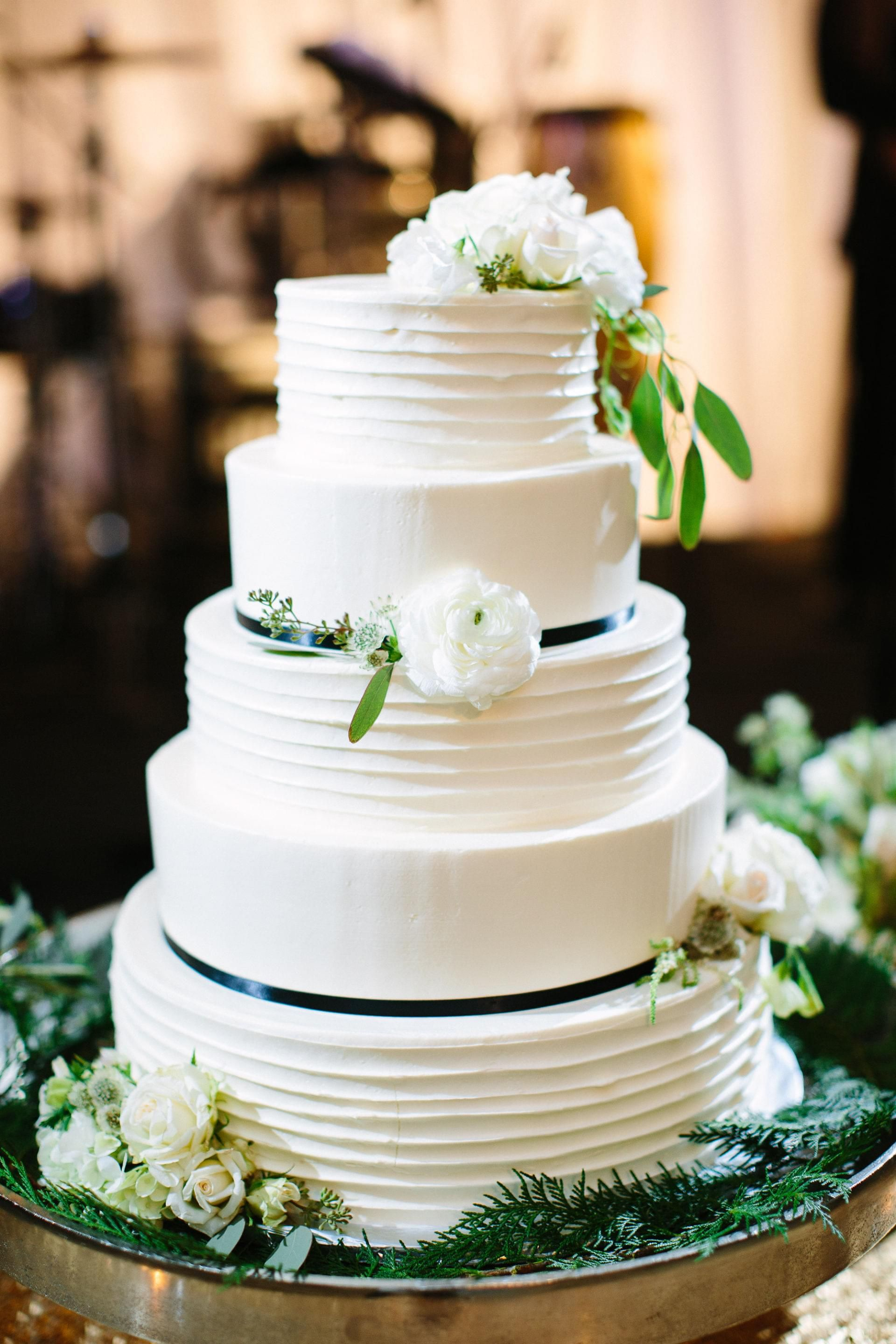The Smarter Way to Wed | Buttercream wedding cake, Ranunculus and ...