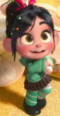 Vanellope She S So Cute And She Has Phillips Eyes With