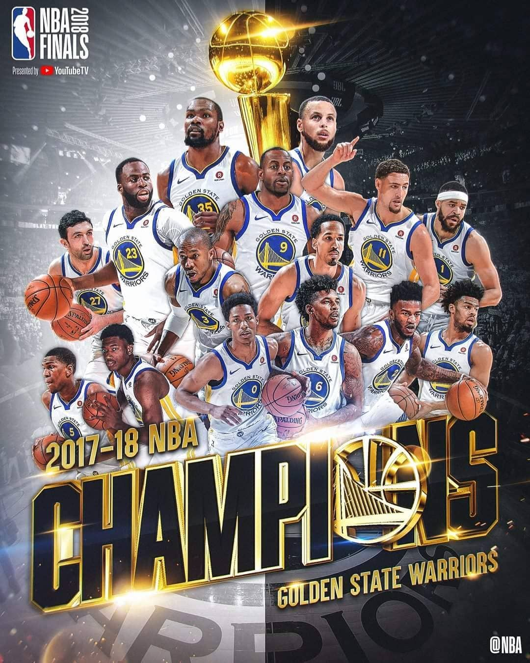 Warriors Come Out And Play Golden State: NBA CHAMPIONS 2018 #nba #nbaplayoffs #champions #2018
