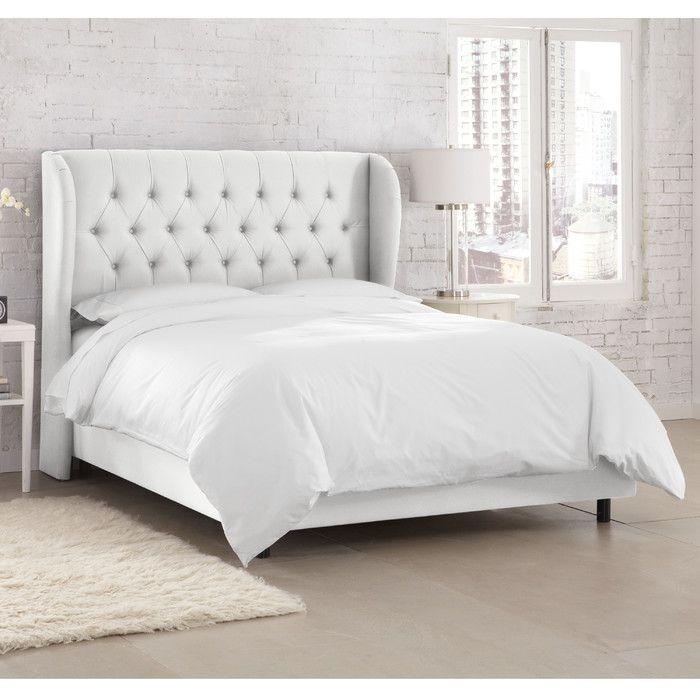 Kingsville Upholstered Standard Bed Bed Linen Design Upholstered Platform Bed Upholstered Beds