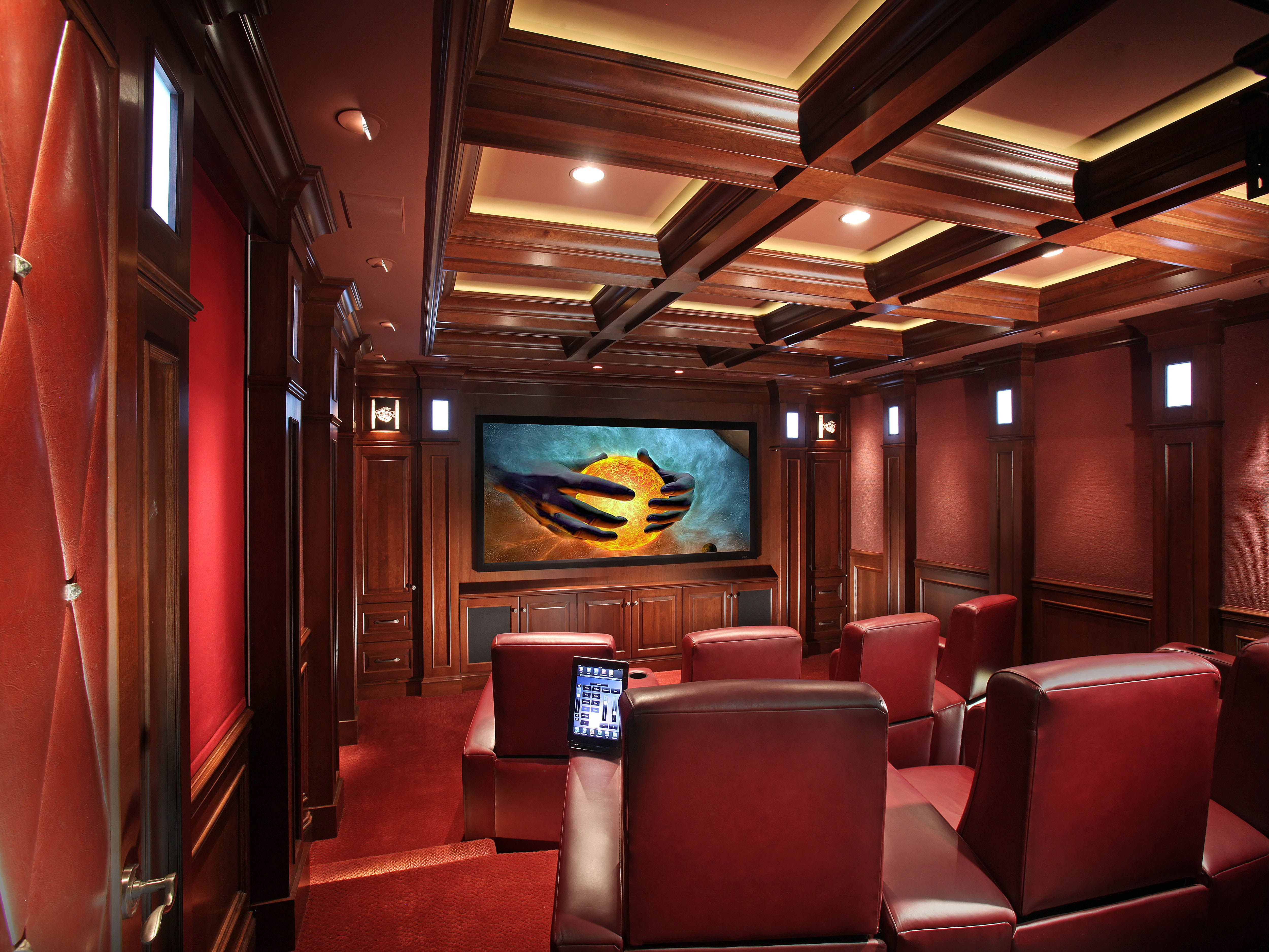 Home Theater Installation By Audio Concepts In Bostonnorth Attleboro, Ma