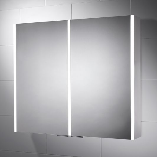 Sienna 815 X 700 Led Illuminated Bathroom Cabinet Mirror