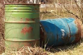 Image result for metal barrel   - Barrels -
