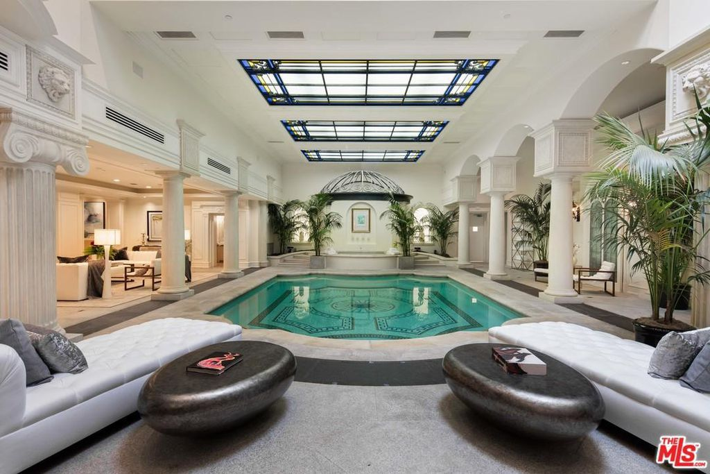 75 Cool Indoor Pool Ideas And Designs For 2018facebookgoogle Pinteresttwitter Indoor Pool Design Indoor Swimming Pool Design Luxury Swimming Pools