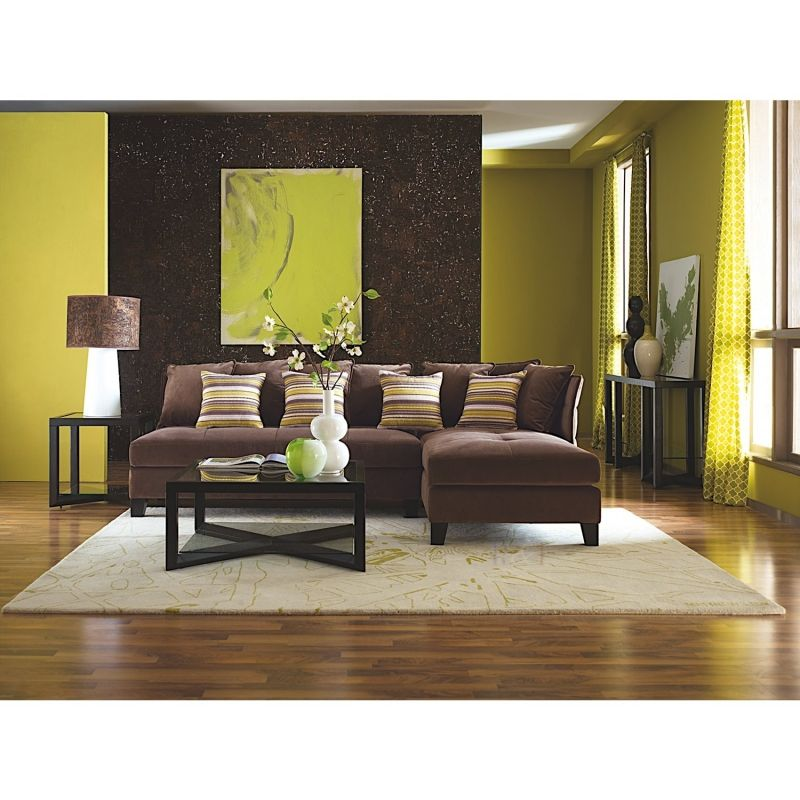 Mocha Colored Walls: Hutton - Mocha Sectional Set