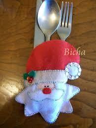 Resultado de imagen para cubierteros navideños