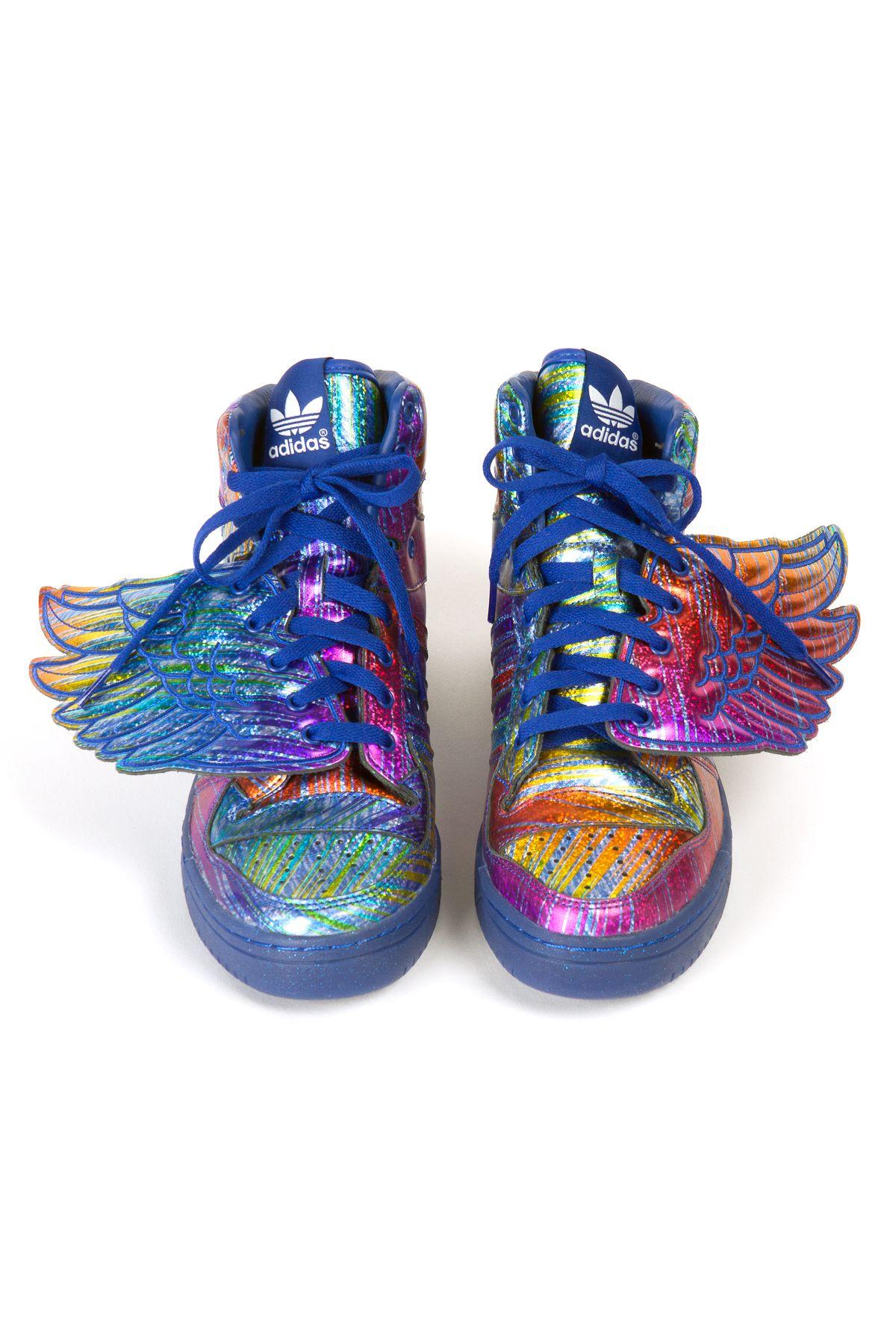 JS Wings Sneakers by Jeremy Scott x Adidas.