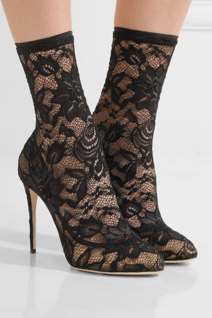 Clearance Prices Stretch-lace And Tulle Sock Boots - Black Dolce & Gabbana Websites Online Cheap Online Store Manchester Outlet Cheap Authentic TytbU