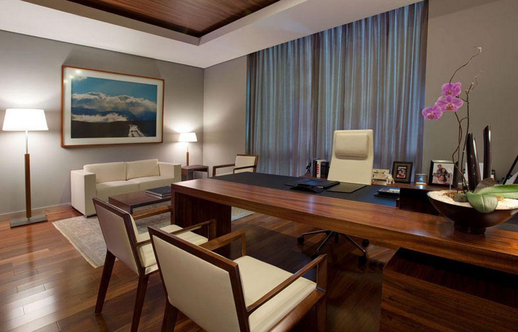 24 Elegant Office Interior Design Ideas Office Cabin Design