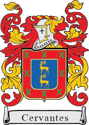 Apellido Cervantes Escudo De Armas Apellidos Escudo Nobiliario Escudo De Armas