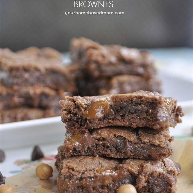Caramel brownies recipe yummly recipe desserts