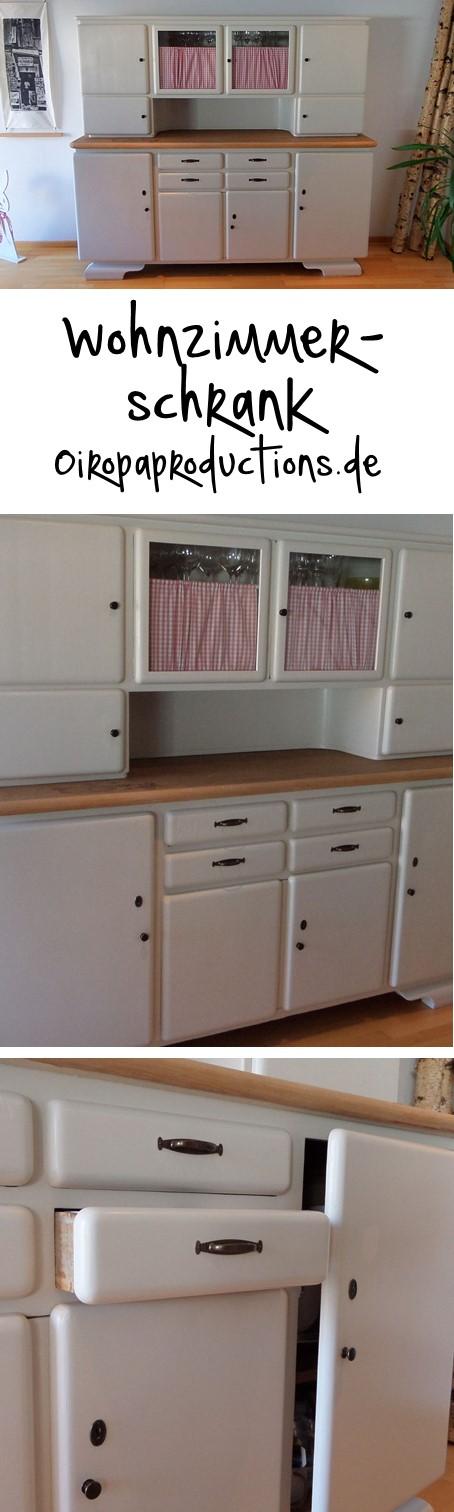 Wohnzimmer Schrank Parlor Cupboard Umbau Upgrading