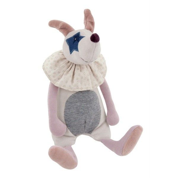 Moulin Roty Musical Plush Dog, Aldo, $45 - find it and more Gift Guides at SmallforBig.com #babies #toys #gifts