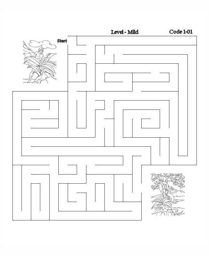 printable bible activity sheets bible printables bible maze activity sheet pages - Activity Pages Printable