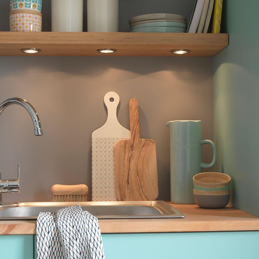 5 solutions pour clairer son plan de travail eclairage. Black Bedroom Furniture Sets. Home Design Ideas