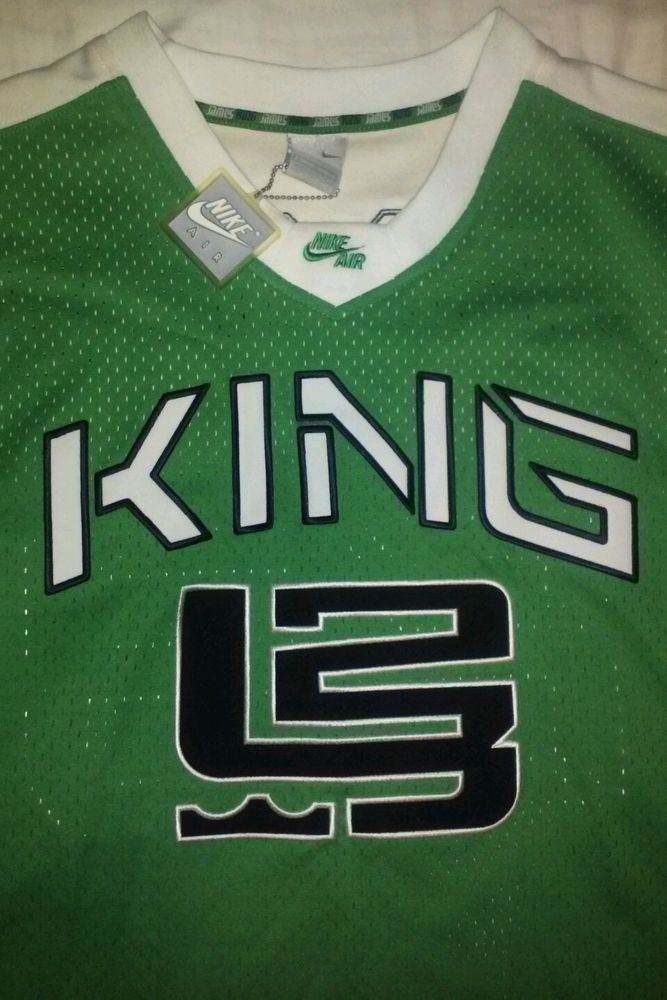 Lebron James jersey 2003 NIKE AIR special edition KING JAMES special edition in Sports Mem, Cards & Fan Shop, Fan Apparel & Souvenirs, Basketball-NBA | eBay