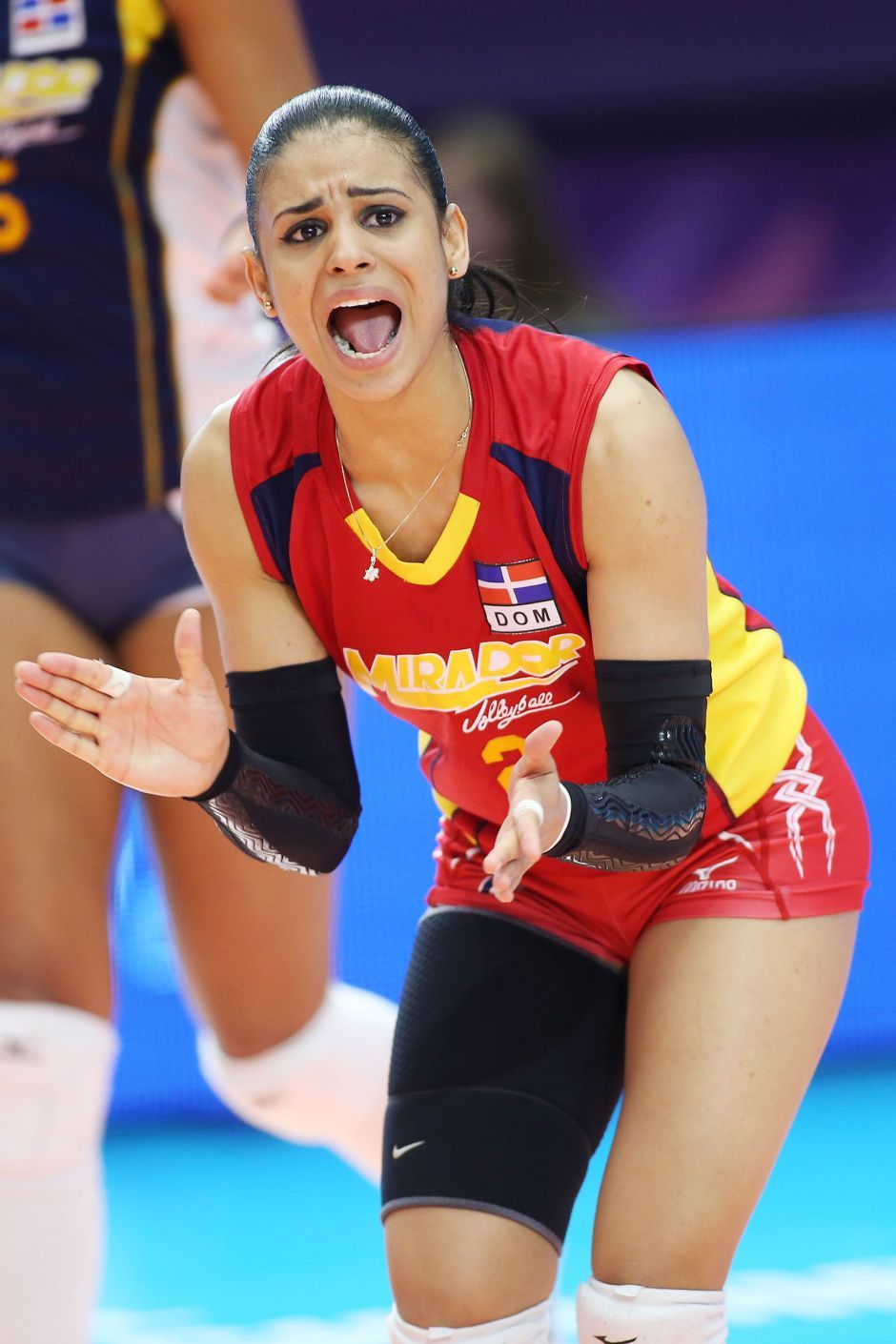 Winifer Fernandez The Volleyball Player Everyone Is Talking About Right Now In 2020 Winifer Fernandez Volleyball Players Female Volleyball Players