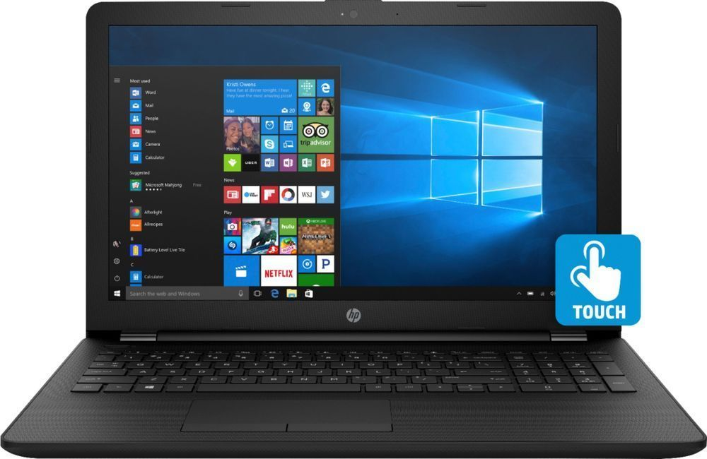Hp 15 6 Touch Screen Laptop Intel Core I3 8gb Memory 1tb Hard Drive 192018956384 Ebay Touch Screen Laptop Hp Laptop Best Laptops