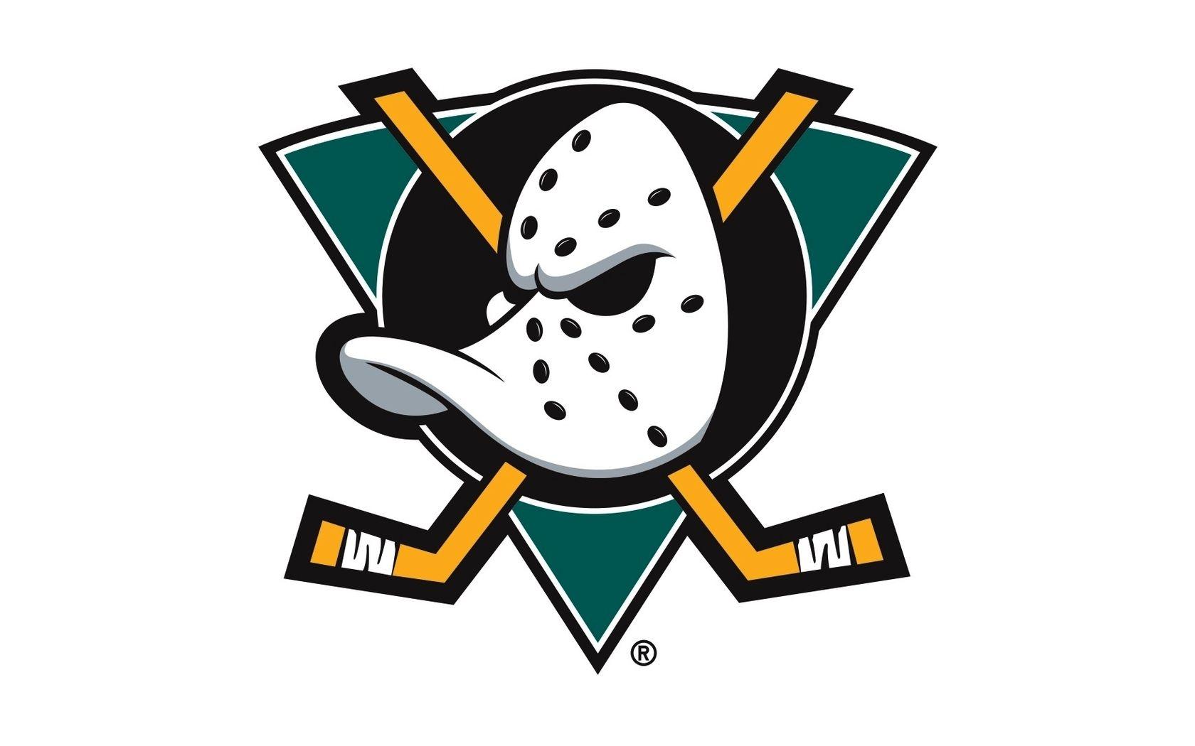 Hockey Logos Anaheim Ducks Wallpaper Nhl Hockey Sports Game Logo Mask Stick Hockey Logos Nhl Logos Duck Logo