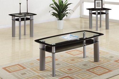 poundex 3pc coffee table set b m g products rh pinterest com