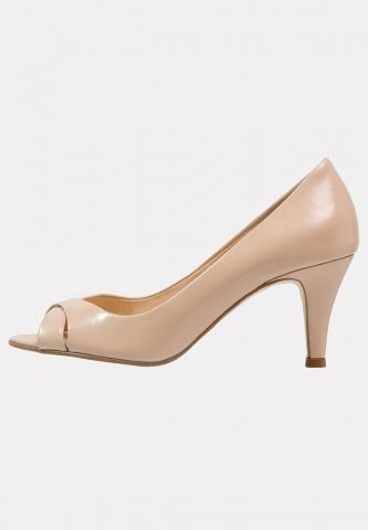 accf7839dbe4a4 Escarpins 7cm nude bout ouvert Jonak - ClicknDress | #Chaussures ...