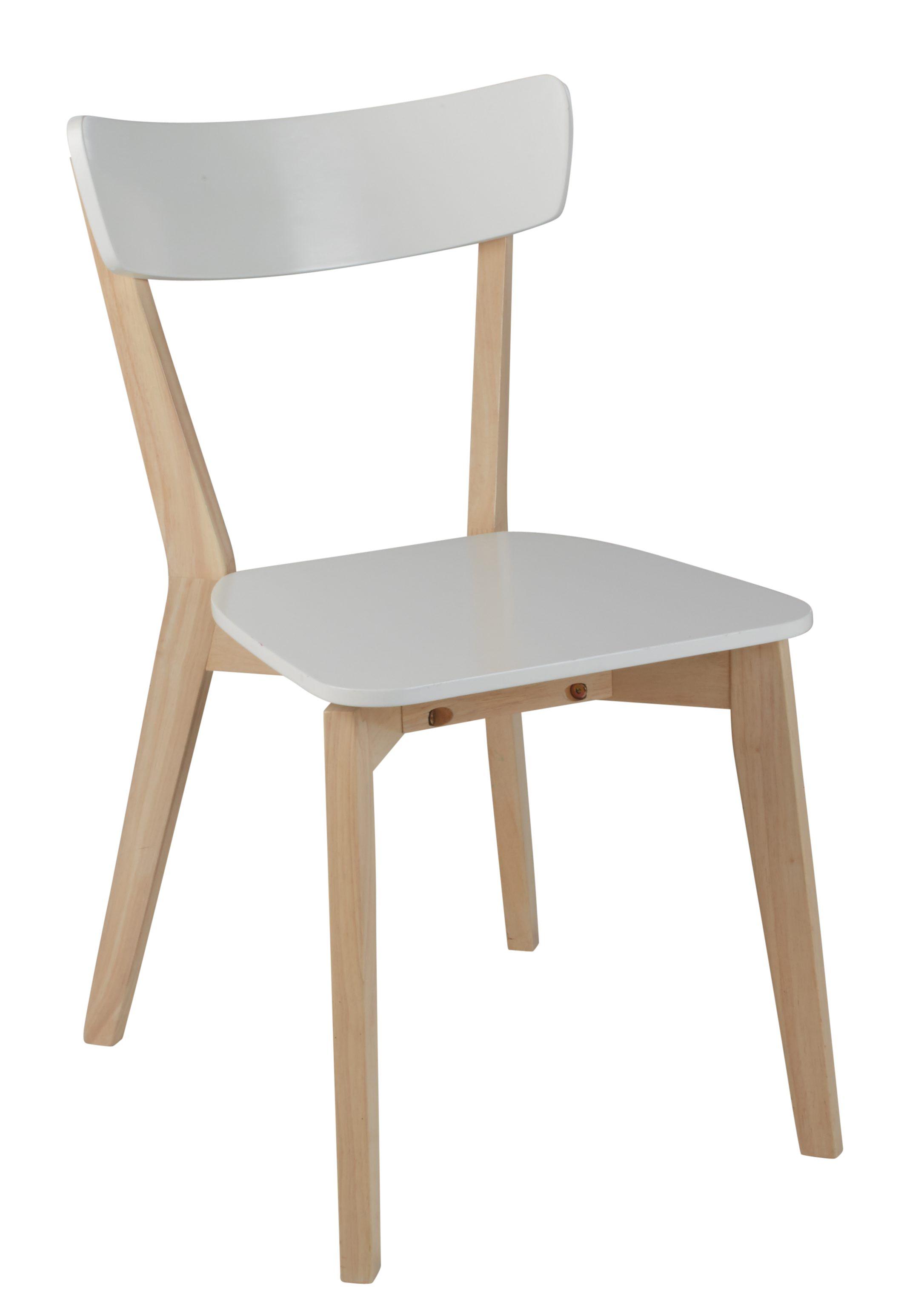 chaise luna blanc mobilier meuble