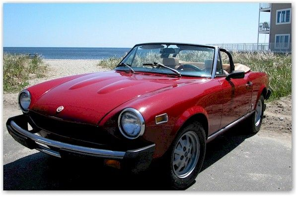 1978 Fiat 124 Spider My Second Car