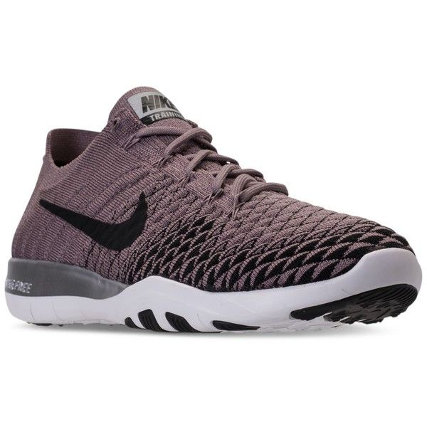 308275679cdf Nike Women s Free Tr Flyknit 2 Bionic Training Sneakers from Finish...  ( 120) ❤ liked on Polyvore featuring shoes